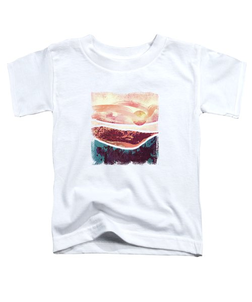 Coral Sky Toddler T-Shirt by Katherine Smit