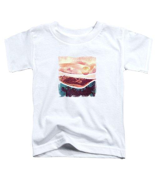 Coral Sky Toddler T-Shirt