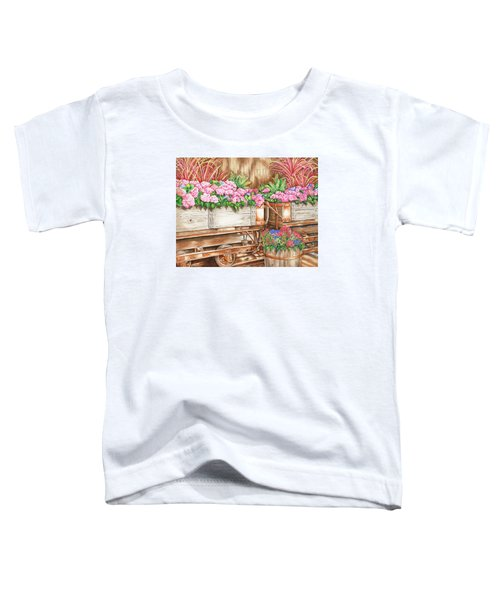 Cordelia's Train Toddler T-Shirt