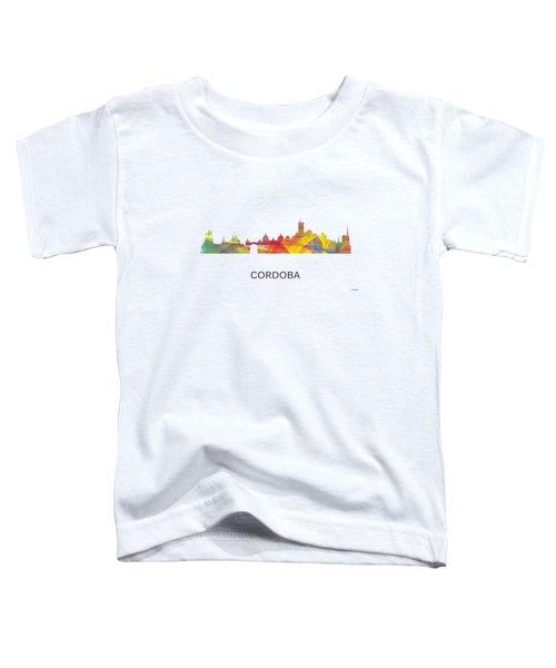 Cordoba Argentina Skyline Toddler T-Shirt