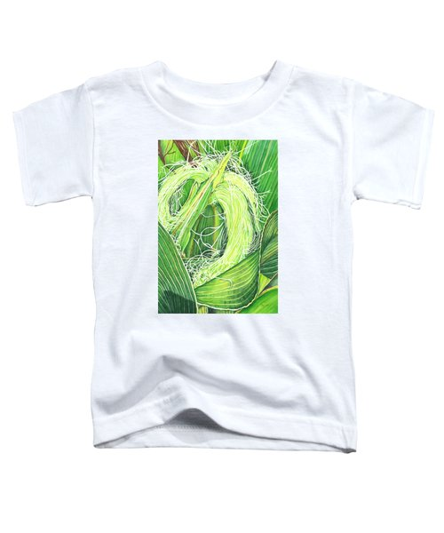 Corn Silk Toddler T-Shirt