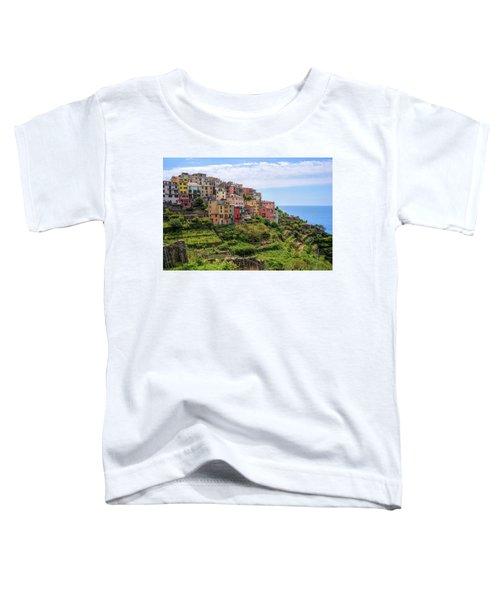 Corniglia Cinque Terre Italy Toddler T-Shirt