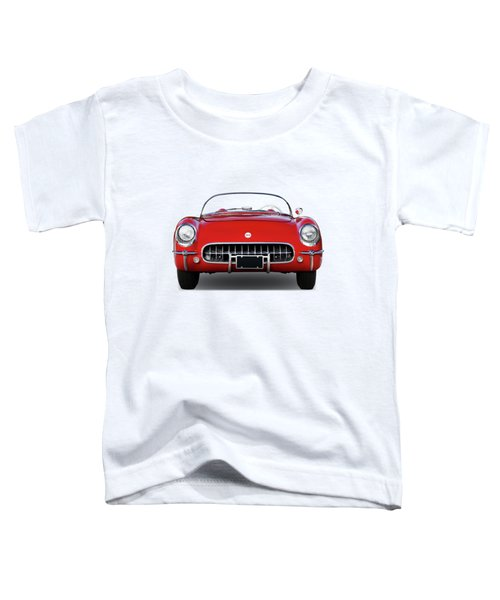 Corvette 1954 Front Toddler T-Shirt