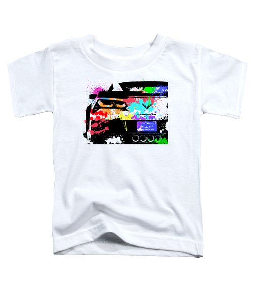 Corvette Pop Art 1 Toddler T-Shirt