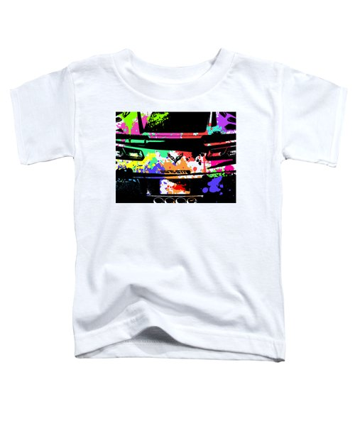 Corvette Pop Art 2 Toddler T-Shirt