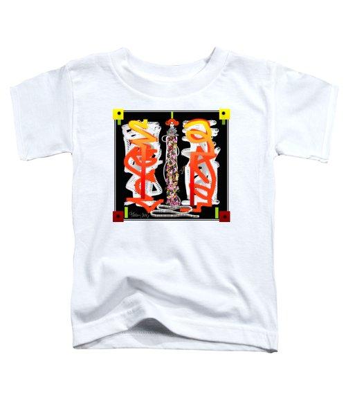 Cosmic Geisha - Dimension Hopping Toddler T-Shirt