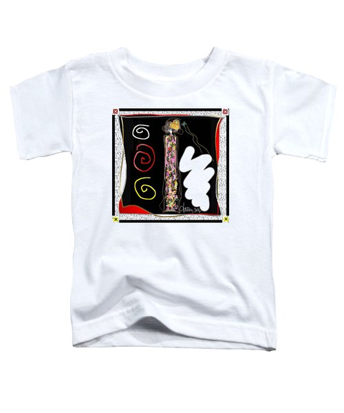Cosmic Geisha - Trapped In Computational Graffiti  Toddler T-Shirt