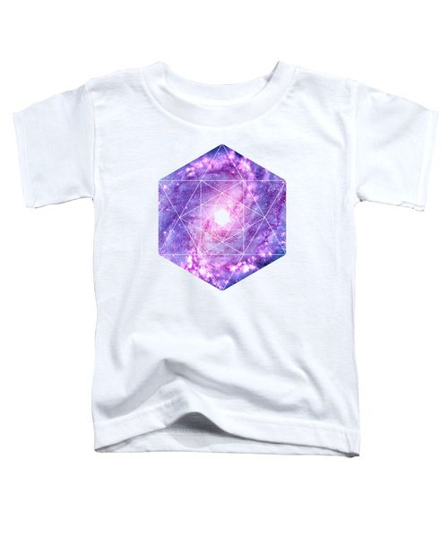 Cosmic Vacuum Cleaner Spiral Galaxy M83 Toddler T-Shirt