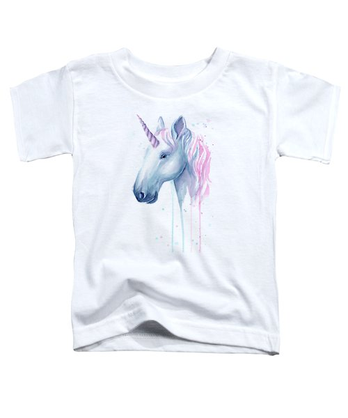 Cotton Candy Unicorn Toddler T-Shirt