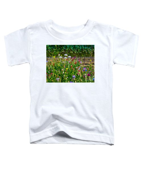 Country Wildflowers II Toddler T-Shirt