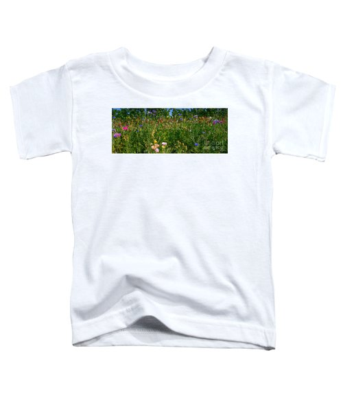 Country Wildflowers IIi Toddler T-Shirt
