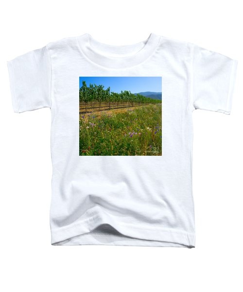 Country Wildflowers V Toddler T-Shirt