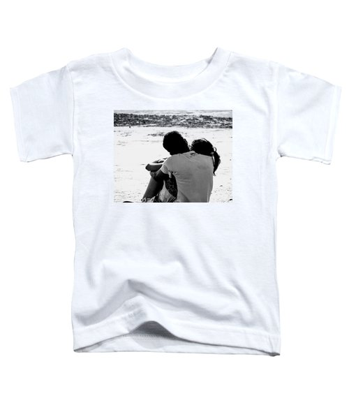 Couple On Beach Toddler T-Shirt