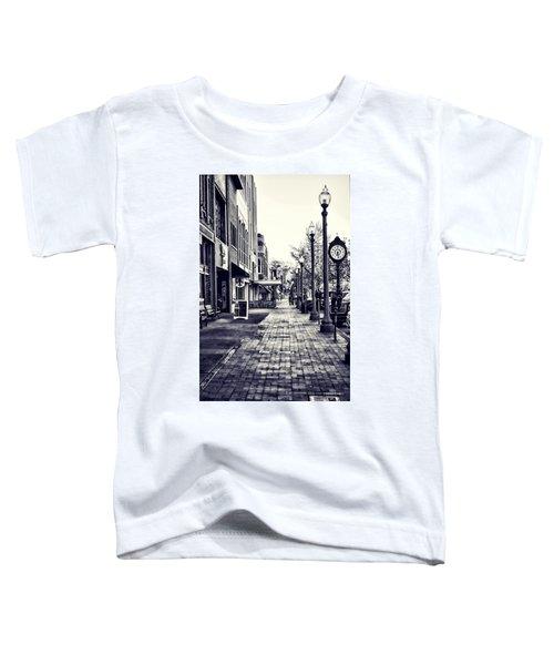 Court Street Clock Florence Alabama Toddler T-Shirt