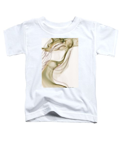 Coy Lady In Hat Swirls Toddler T-Shirt