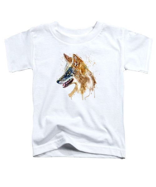Coyote Head Toddler T-Shirt