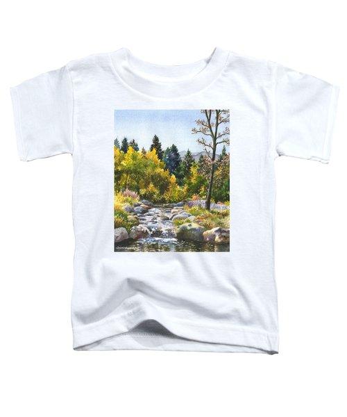 Creek At Caribou Toddler T-Shirt
