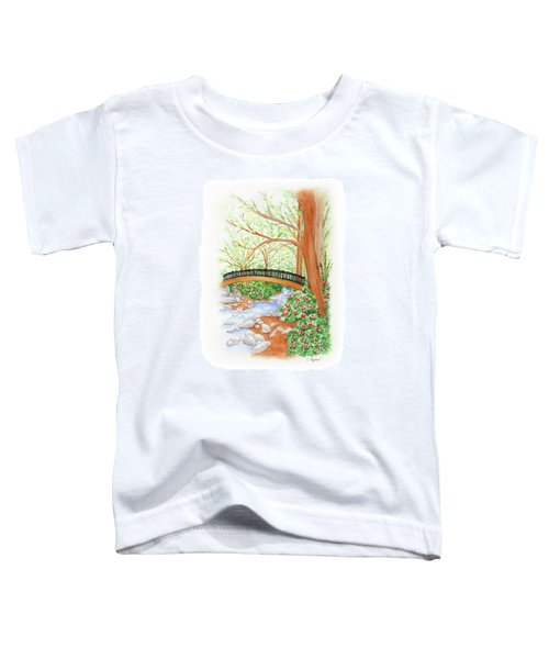 Creek Crossing Toddler T-Shirt
