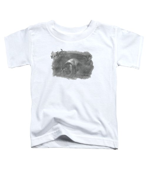 Creeping Panther Toddler T-Shirt by Maria Astedt