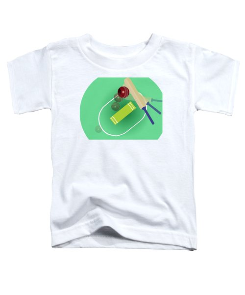 Cricket Toddler T-Shirt by Smita Kadam
