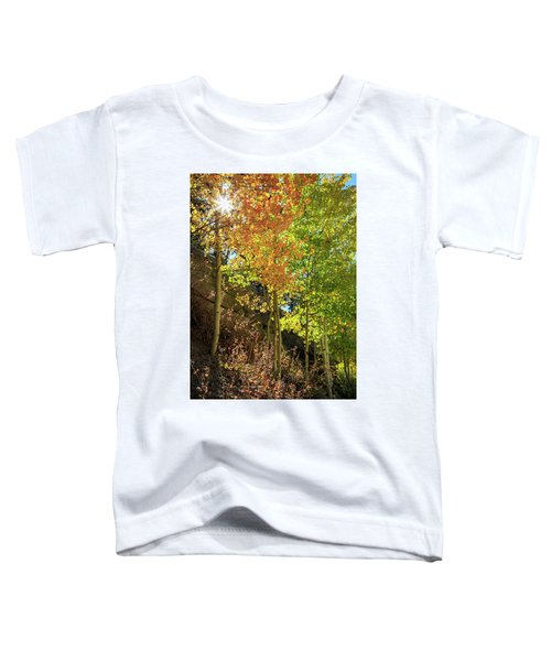 Crisp Toddler T-Shirt by David Chandler