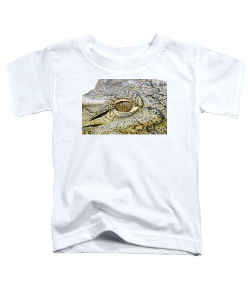 Crocodile Eye Toddler T-Shirt