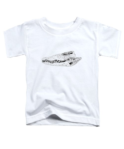 Crocodile Skull Toddler T-Shirt