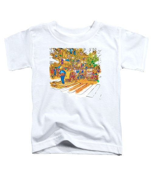 Crosswalk In The Philippines Toddler T-Shirt