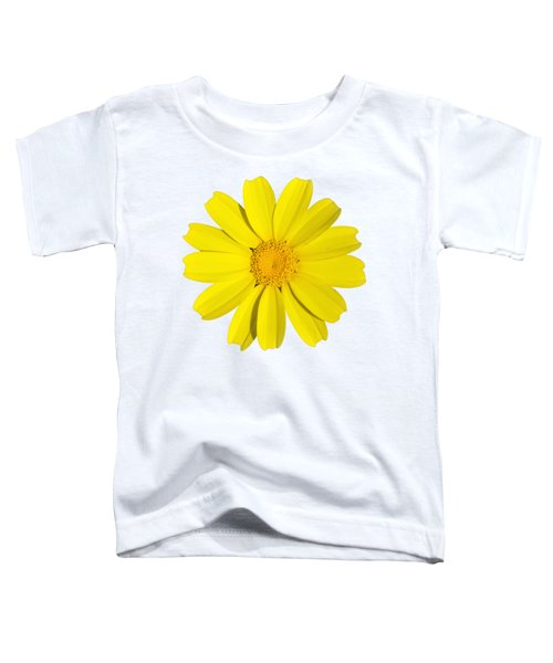 Crown Daisy Toddler T-Shirt