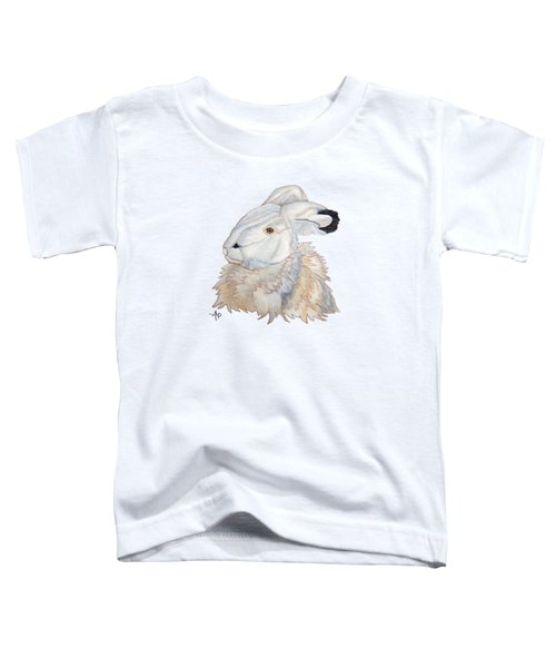 Cuddly Arctic Hare Toddler T-Shirt