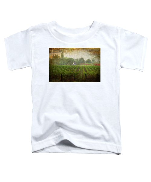Cultivating A Chardonnay Toddler T-Shirt