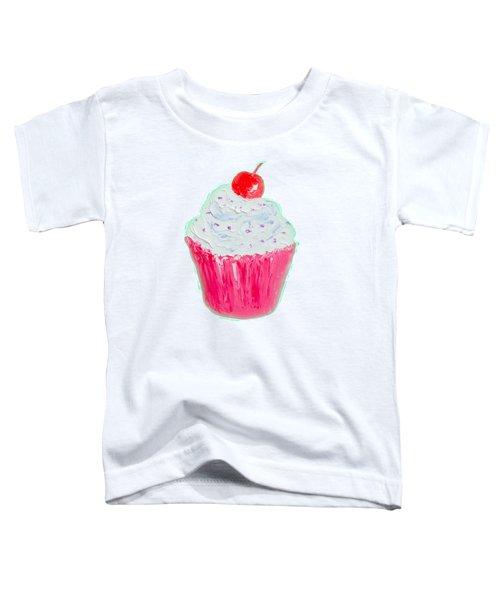 Cupcake Painting Toddler T-Shirt