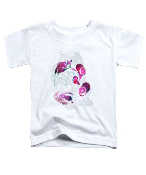 Curious Fish Toddler T-Shirt