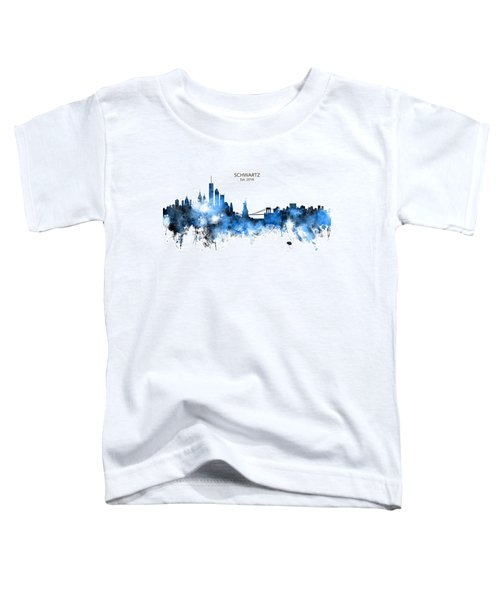 Custom New York Skyline Toddler T-Shirt