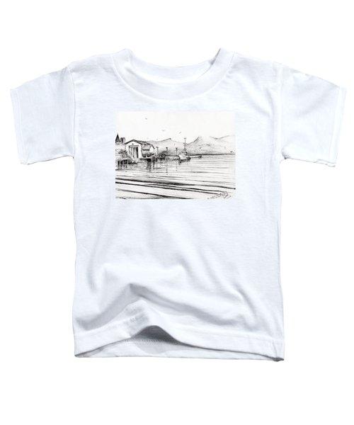Customs Boat At Oban Toddler T-Shirt