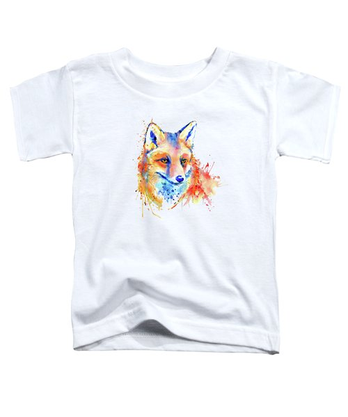 Cute Foxy Lady Toddler T-Shirt by Marian Voicu