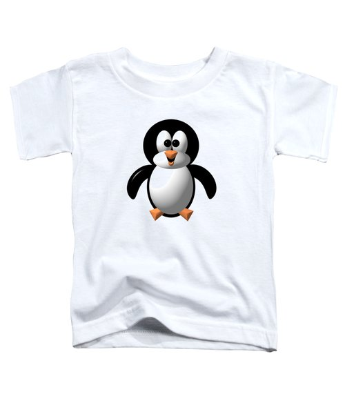 Cute Pengie The Penguin  Toddler T-Shirt