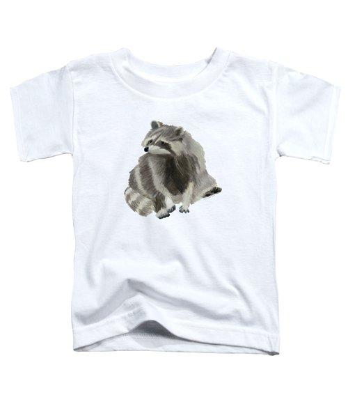 Cute Raccoon Toddler T-Shirt