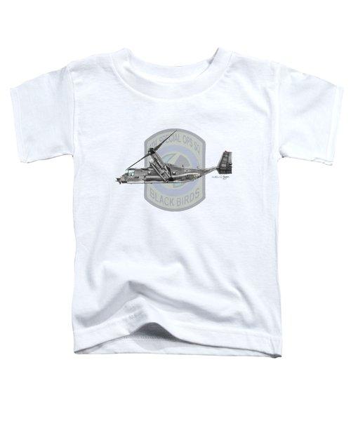 Cv-22b Osprey 8sos Toddler T-Shirt by Arthur Eggers