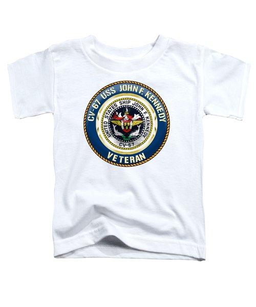 Cv-67 Uss John F. Kennedy Toddler T-Shirt