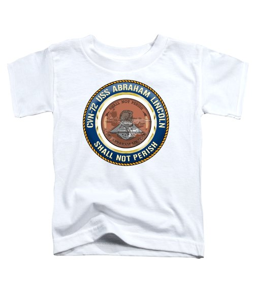 Cvn-72 Uss Abraham Lincoln Toddler T-Shirt
