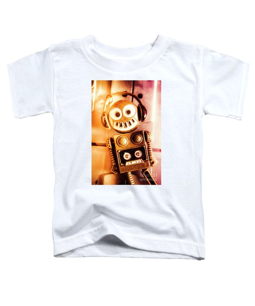 Cyborg Dance Party Toddler T-Shirt