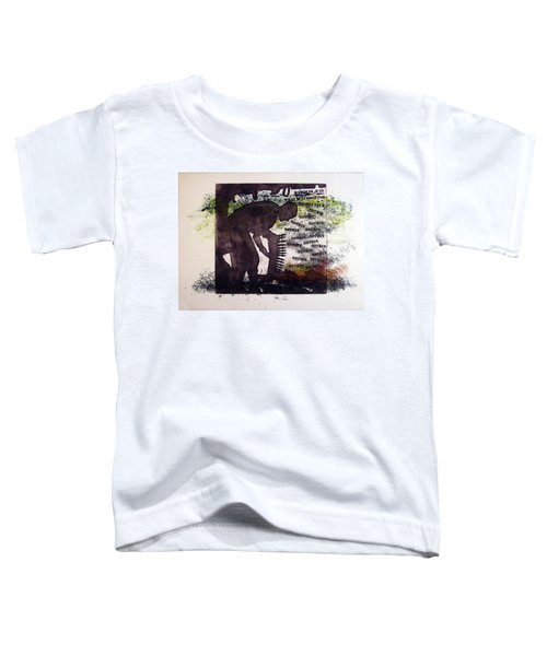 D U Rounds Project, Print 5 Toddler T-Shirt