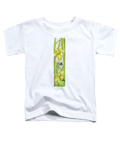 Daffodils And Bees Toddler T-Shirt