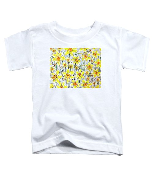 Daffodils Toddler T-Shirt
