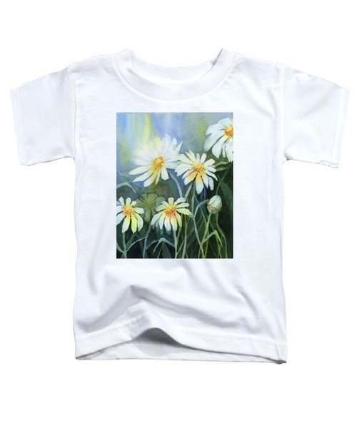 Daisies Flowers  Toddler T-Shirt