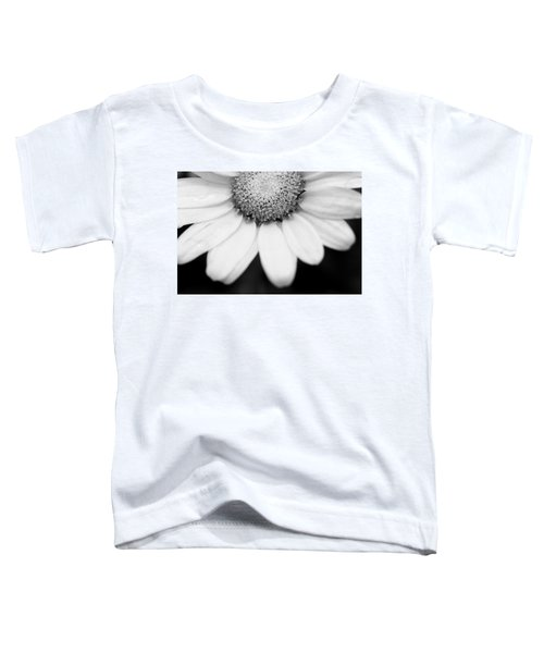 Daisy Smile - Black And White Toddler T-Shirt