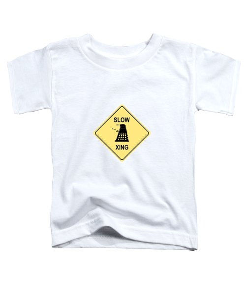 Dalek Crossing Toddler T-Shirt