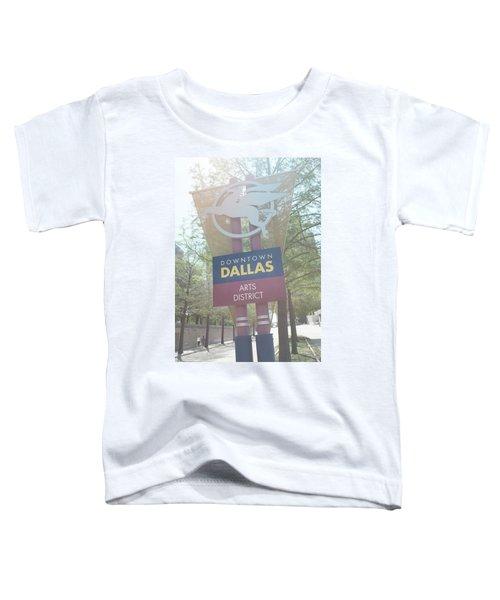 Dallas Arts District Toddler T-Shirt