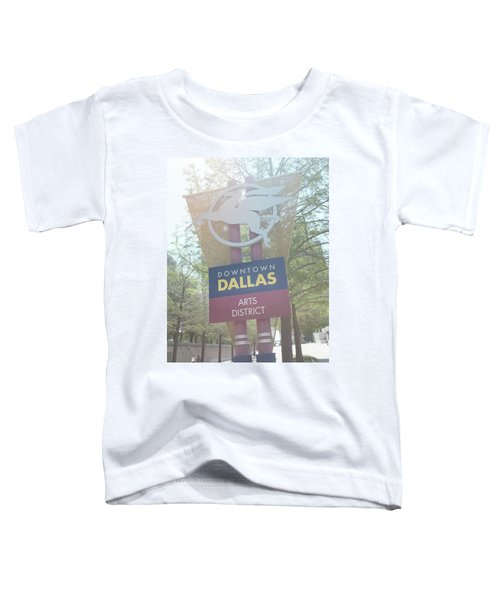 Dallas Arts District Toddler T-Shirt